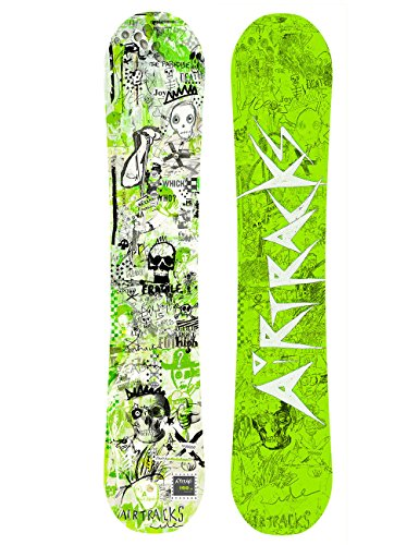 Airtracks Snowboard Dreamcatcher Neon Board Wide Hybrid Rocker Twin Tip / 150 153 155 158 162 / cm