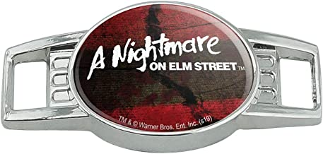 A Nightmare on Elm Street Logo Shoe Shoelace Shoe Lace Tag Runner Gym Charm Decoration