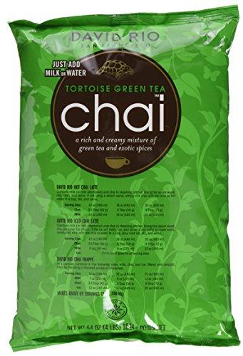 David Rio - Tortoise Green Chai, Nachfüllbeutel (1 x 1.814 kg)