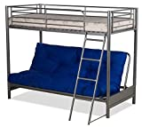 Amani International Bunk, Silver, Twin
