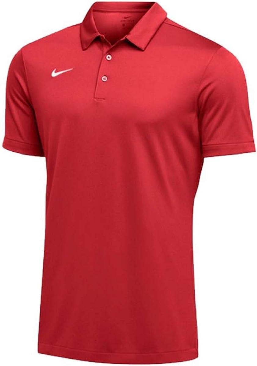 Nike Mens Dri-FIT Short Sleeve Polo Shirt Sky Blue
