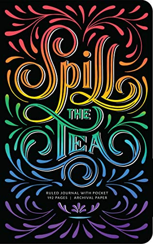 Spill the Tea Hardcover Ruled Journal (Insights Journals)