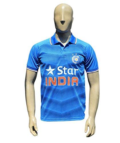 X-14 x3Team Indien ODI Cricket Jersey 2015–Kinder zu Erwachsenen-Größen 48 blau