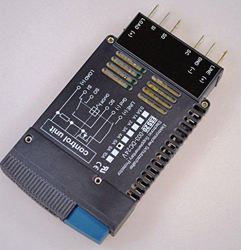 E-T-A ESS20-003-DC24V-6A, Elektronischer Schutzschalter / Electronic Supplementary Protector