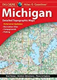 DeLorme Atlas & Gazetteer: Michigan (Delorme Michigan Atlas and Gazeteer)