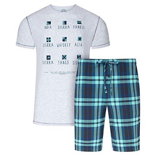 Jockey® - Pijama de paisajes Marinos Almendra Melange M