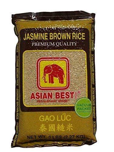 Asian Best Jasmine Brown Rice 5 Pound