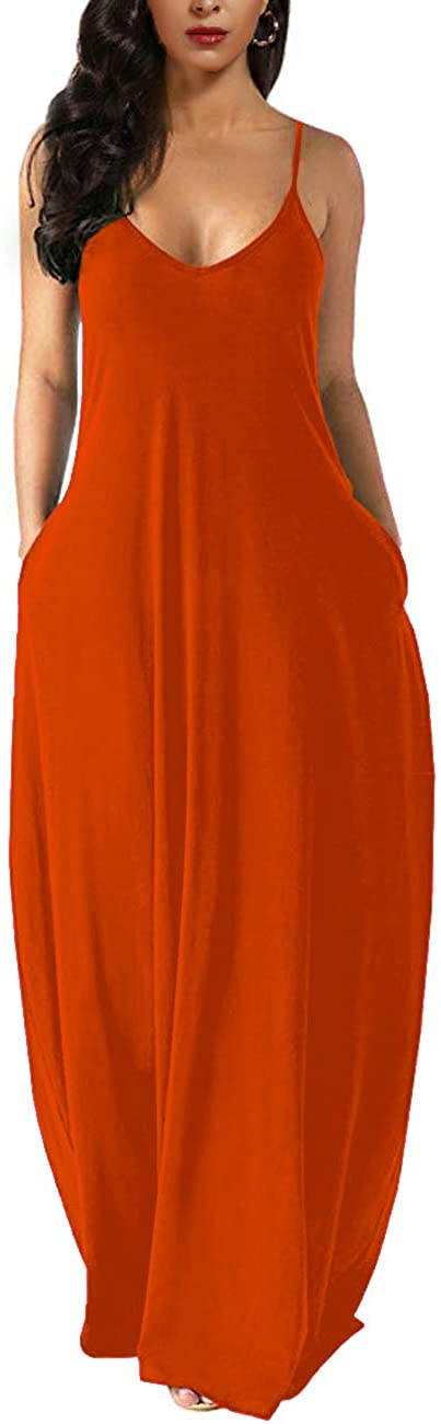 Wolddress Womens Casual Sleeveless Plus Long Plain Genuine Free Shipping Loose Ma Year-end gift Size