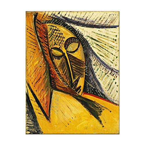 Picasso Abstract Oil Painting Replica Canvas Painting Wall Art Posters for Living Room Bedroom Home Decoration,30X40cm No Frame,WS-BJS021