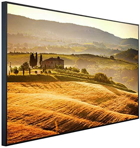 InfrarotPro Infrarotheizung, Toskana Landschaft, 120x75x3 cm