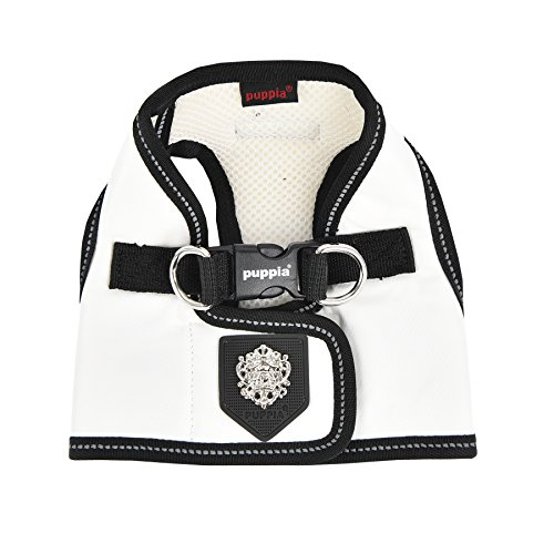 Puppia Legacy Harness B, X-Large, White