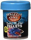 OmegaSea Food 02371 Betta Pellets 1 oz/28g, 1 Can