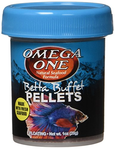 Omega One Betta Buffet 1.5mm Pellets, 1 oz