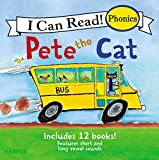 Pete the Cat 12-Book Phonics Fun! (My First I Can Read) (English Edition)