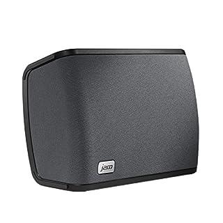 Controllo integrato di Amazon Alexa; usa l'app JAM gratuita per chiedere ad Alexa una domanda Audio stereo 2.1, perfetto per stanze di medie dimensioni e sincronizzato con più altoparlanti; tutti gli altoparlanti JAM WiFi home sono compatibili con DL...