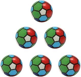DORLIONA 12pcs Beautiful Toy Sponge Pressure Ball Toy Beautiful Ball Foaming Ball for Dog