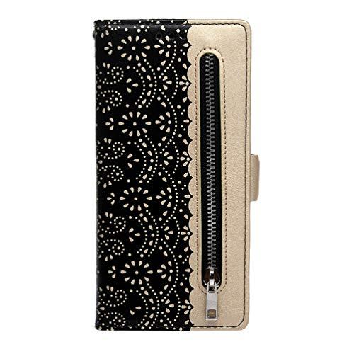 Vogu'SaNa - Funda para Samsung Galaxy Note10 Pro, de piel sintética, con función atril, diseño de flores