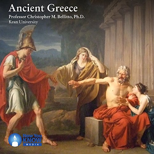 Ancient Greece audiobook cover art