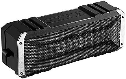 Qtop Bluetoothスピーカー 20W出力 デュアルドライバー/IPX4防水防塵認証/最大30時間持続/内蔵マイク搭載