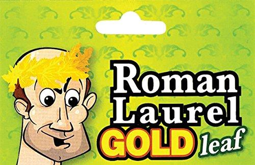 Bristol Novelty Novelty-BA172 BA172 Couronne de Lauriers Romain, Couleur Or