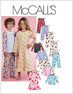 McCall's Patterns M5965 Toddlers'/Children's Gown, Tops and Pants, Size CB (1-2-3)