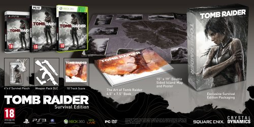 Tomb Raider Survival Edition (Xbox 360) [Import UK]
