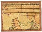 Alviero Martini 1a classe W316, Porta carte di credito Donna, Beige (Naturale), 10x7.5x1 cm (W x H x L)