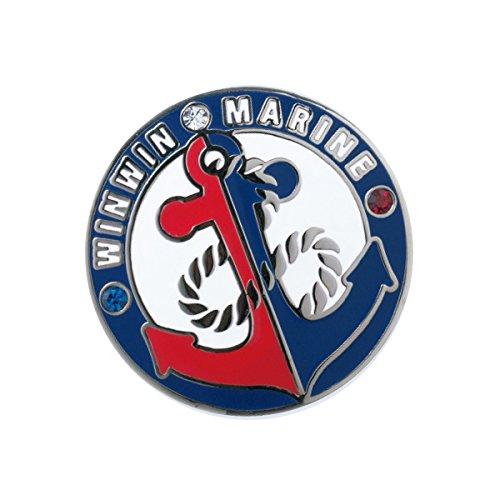 WINWIN STYLE(ウィンウィンスタイル) メガマーカー WINWIN MARINE WINWIN MARINE MM-304 ユニセックス MM-304 マルチ デザイン:型打ち製法(七宝仕上げ)/クリスタルストーン入り