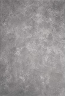 Laeacco Design 5x7ft Vinyl Photography Backdrops Solid Color Blurry Gray Theme Personal Portraits Photo Background,1.5x2.2m Studio Props