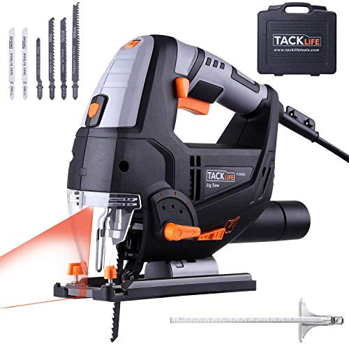 Jigsaw, TACKLIFE 800W 0-3000RPM electric Jig saws tool with...
