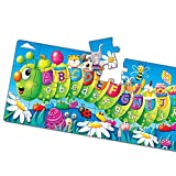 The Learning Journey Long and Tall Puzzles - ABC Caterpillar - 51 Piece, 5-foot-long Preschool STEM Puzzle - Educational Gifts for Boys & Girls Ages 3 and Up (434536)