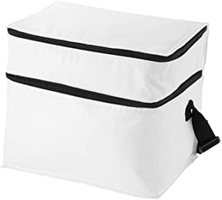 Oslo Cooler bag with 2 compartments- White