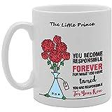 El Principito Te conviertes en responsable Para siempre Novedad Regalo Té de cerámica Taza de café