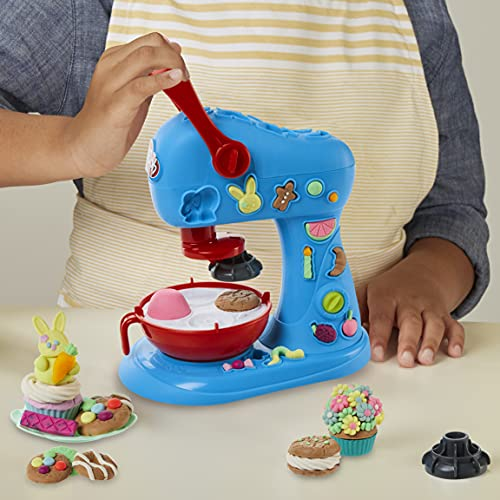 Play-Doh Kitchen Creations Ultimate Cookie Baking Playset for Kids 3 Years and Up with Toy Mixer, 25 Tools, and 15 Modeling Compound Cans, Non-Toxic (Amazon Exclusive)