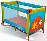 Babymoov A035000 - Kompaktes farbiges Reisebett mit Schlupfloch