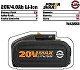 Work - Batería de litio de 20 V y 4 Ah con indicador de carga