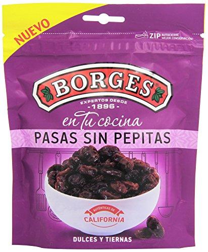 Borges Pasas sin Pepitas Dulces y Tiernas, 150g