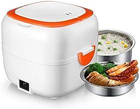 Mini cuiseur à riz multifonctionnel autoguant pour déjeuner électrique portable avec bols, plateau à vapeur pour la maiso...