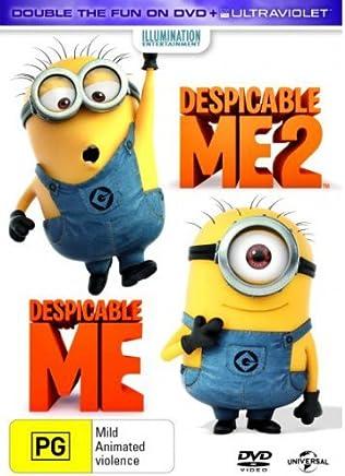 Despicable Me / Despicable Me 2 (DVD/UV) [2 Discs] [Region 4]