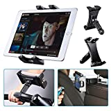 Support tablette vélo Tendak Spinning, voiture portable appui-tête, tapis course, gymnase guidon, microphone support réglable à 360 ° pour iPad Pro, iPad Mini, iPad Air 4.7-12.9' Téléphone Tablette