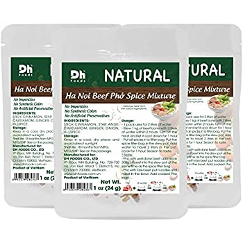 Dh Foods Pho Spice Packet   Beef pho soup seasoning   Comes with spice filter bag   3 packs