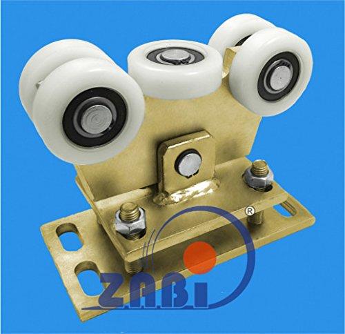 ZAB-S Laufwagen (Code:WR-5T-80/4) Laufrolle Profilmaße:80x80x4 Gartentor Schiebetor Rolltor (WR-5T-80/4)