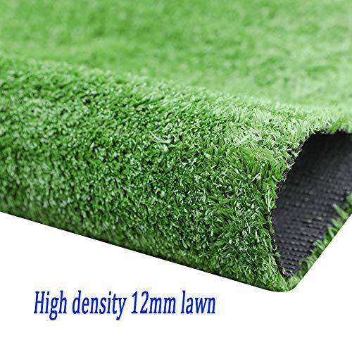 XEWNEG Gazon Artificiel 12MM, Imperméable À Haute Densité Et Découpable, Multi-Fonction Green City Sunscreen Mur/Jardin/Balcon Décoration (Size : 2x15M)