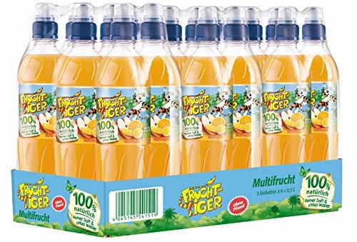 FruchtTiger Multifrucht, 18er Pack (18 x 500 ml)