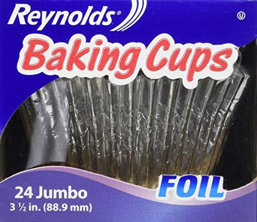 Reynolds Jumbo Foil Cupcake Liners, 12 Packs of 24 (288 Total)