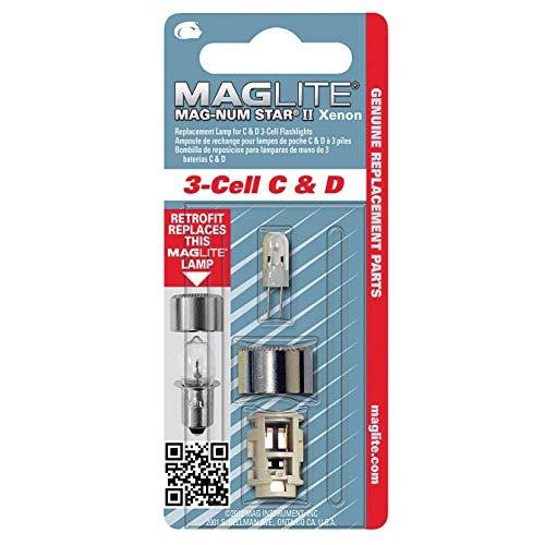 Mag LMXA301 3 Cell Xenon Flashlight Replacement Bulb