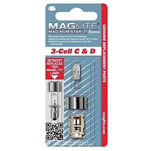 Maglite LED 3-Cell D Flashlight Black GIDDS2-131366