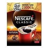 Nescafé Café Classic Soluble Natural Sobres, 10 Sobres