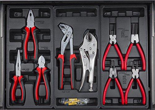 hanSe® Werkstattwagen gefüllt 245-teilig Werkzeug Werkstatt - 5