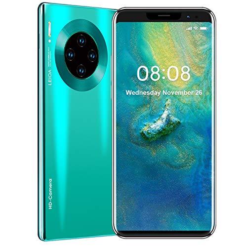 Mate36 PRO Smartphone Offerte, 512 RAM + 4GB Rom Economici Cellulari Smartphone, 5.8 pollici HD+ Cellulare Android 9.1, Quad Camera 8MP + 16MP, 3800 mAh Telefono 4G Dual SIM (Cielo Blu)